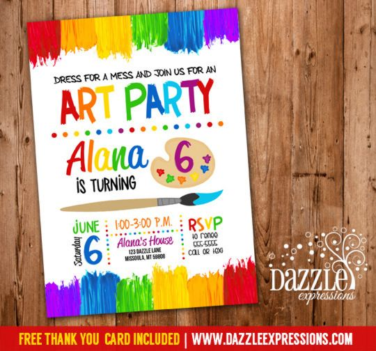 design an invitation card for your birthday party ; childrens-birthday-party-invitations-by-created-your-Birthday-Invitation-Cards-invitation-card-design-with-chic-ornaments-11