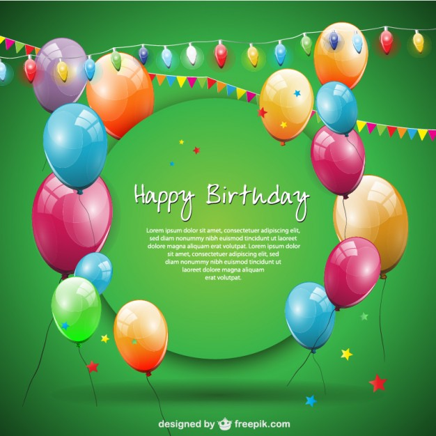 design birthday card with photo free ; green-happy-birthday-card-with-balloons-and-garlands_23-2147491604