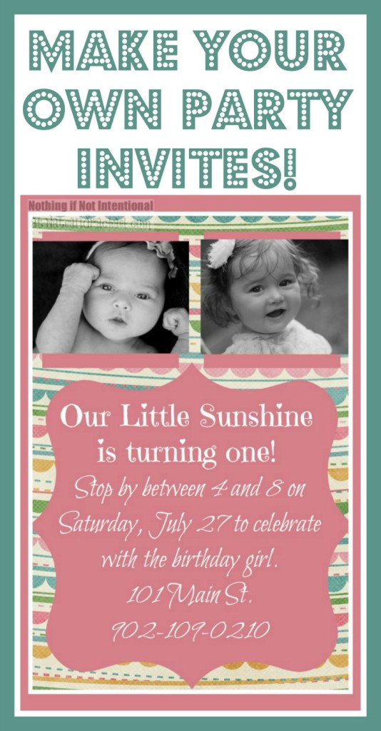 design your own birthday invitation cards free ; party-invites