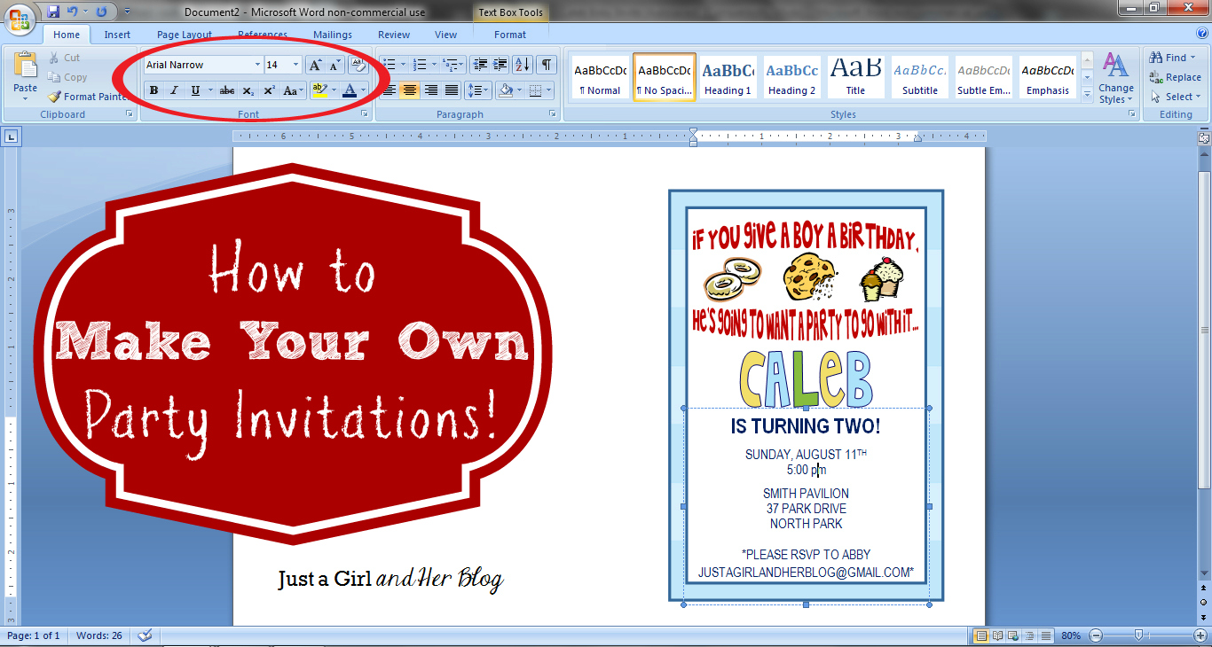 design your own photo birthday invitations ; How-to-Make-Your-Own-Party-Invitations1