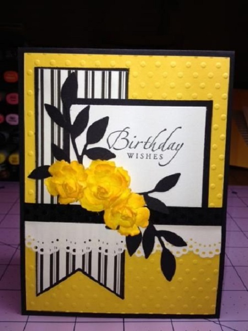 designs for greeting cards for birthday cards ; Handmade-birthday-card-ideas-for-her-8