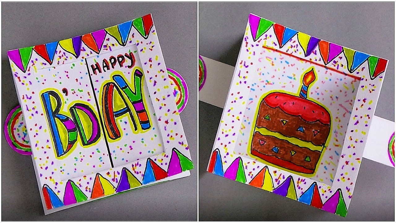 designs for greeting cards for birthday cards ; maxresdefault