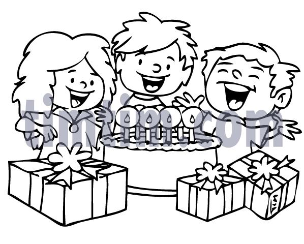 drawing birthday party ideas ; drawing-of-my-birthday-party-birthday-drawings-27