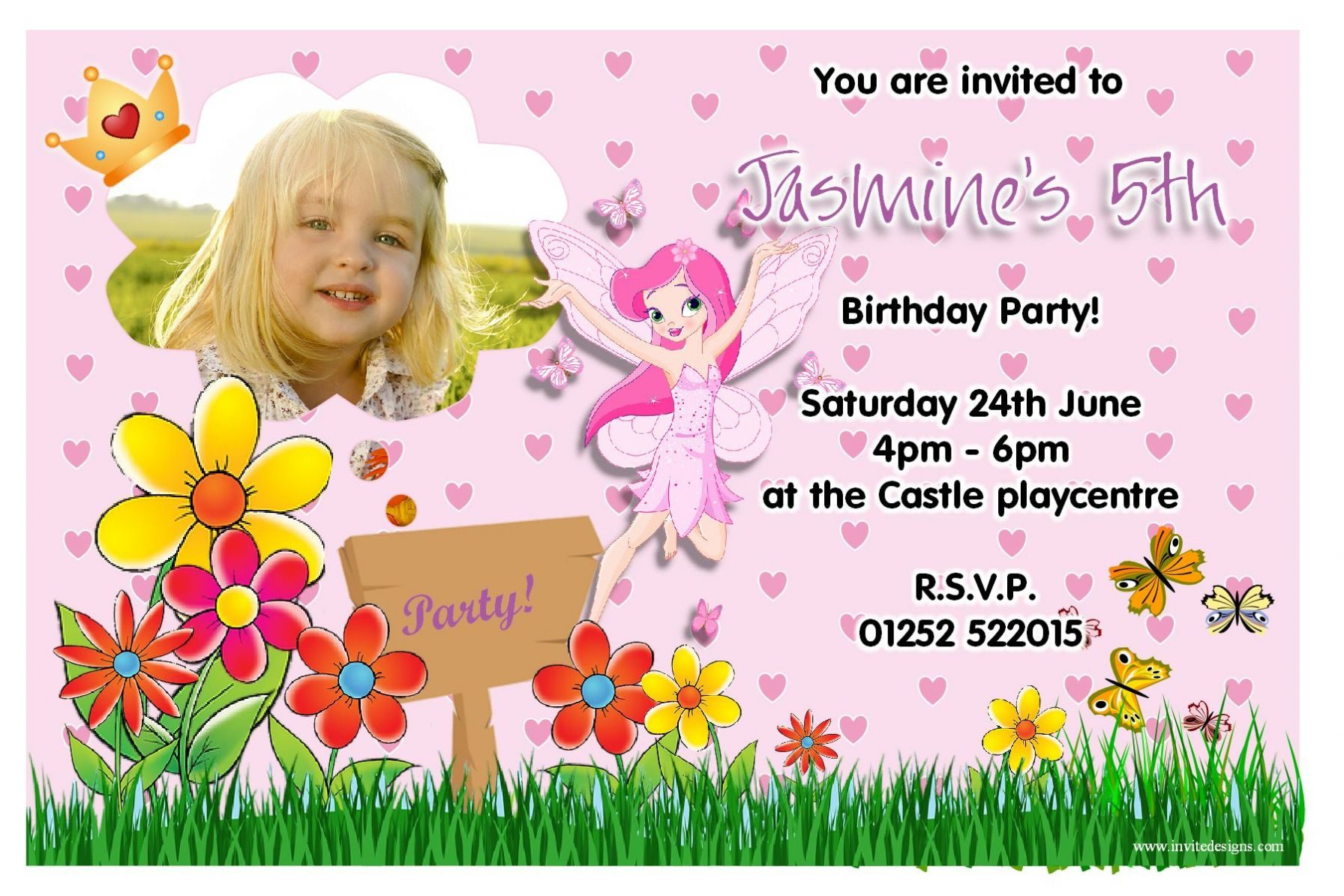 fairy themed birthday invitation ; Fairy-Birthday-Party-Invitations-and-get-ideas-how-to-make-exquisite-birthday-Invitation-appearance-1