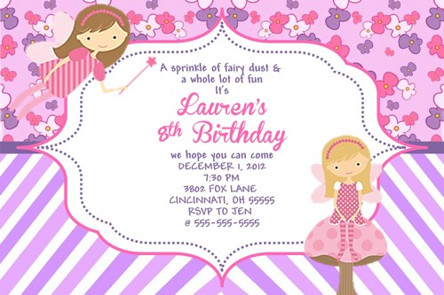 fairy themed birthday invitation ; fairy-birthday-party-invitations-how-to-make-your-own-Birthday-invitations-using-word-3