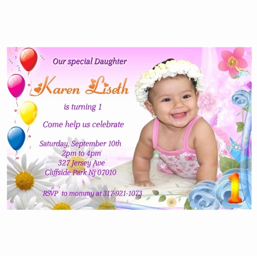 first birthday invitation card design ; invitation-card-design-birthday-unique-1st-first-birthday-girl-personalized-birthday-party-invitation-of-invitation-card-design-birthday