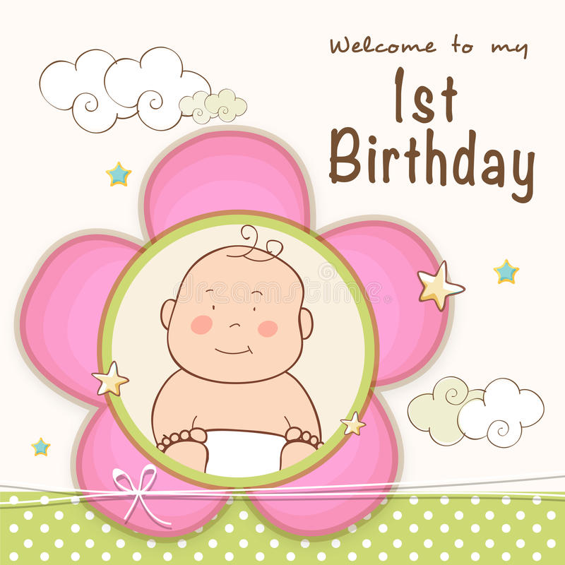 first birthday invitation card design ; st-birthday-invitation-card-design-kids-celebration-cute-baby-47892776