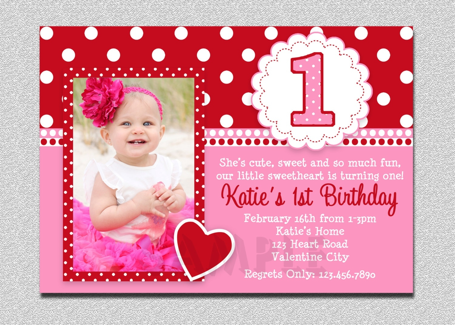 first birthday invitation card design ; valentines-birthday-invitation-1st-birthday-valentines-pertaining-to-1st-birthday-card-design-girl