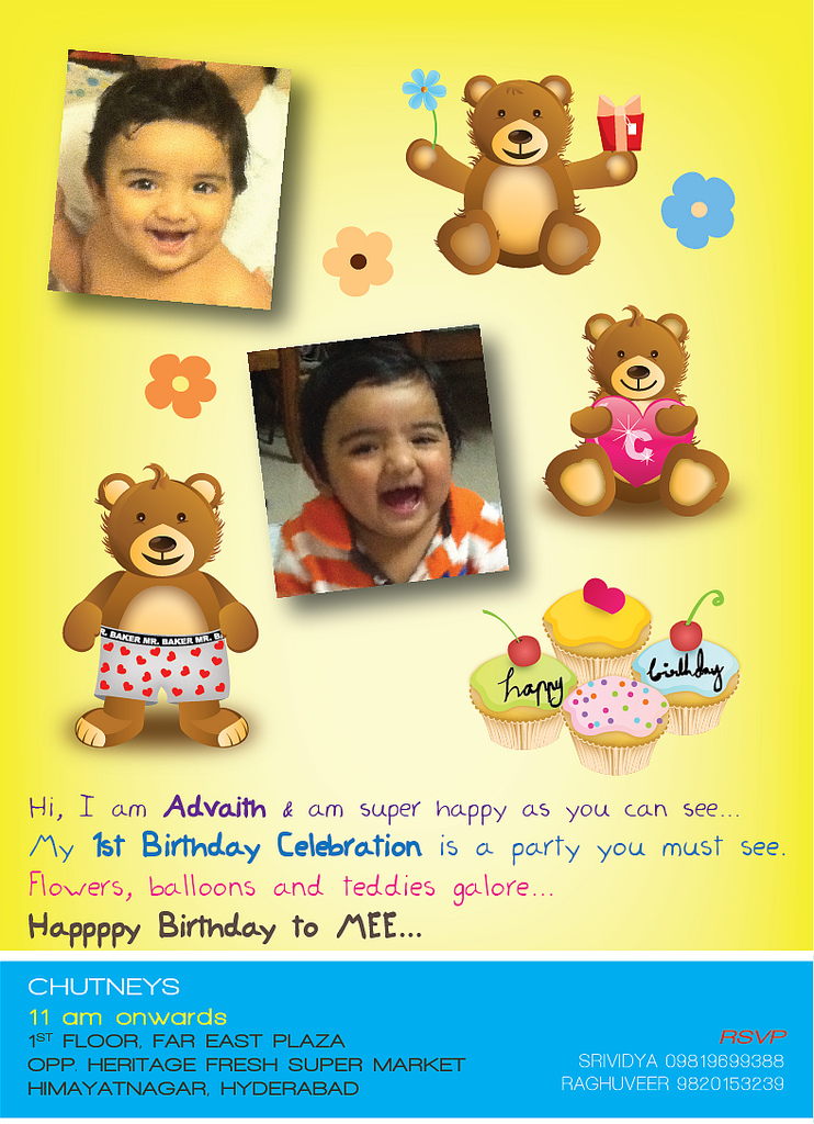first birthday invitation cards designs india ; 6094688834_bcecfd8d7a_b