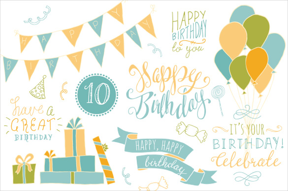first birthday photo banner template ; Ballons-Sample-Birthday-Banner-Template
