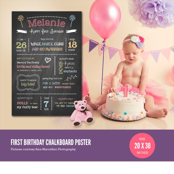 first birthday photo banner template ; c3a57b12f69524aa6a774a2aee5ea9e2--chalkboard-template-chalkboard-poster