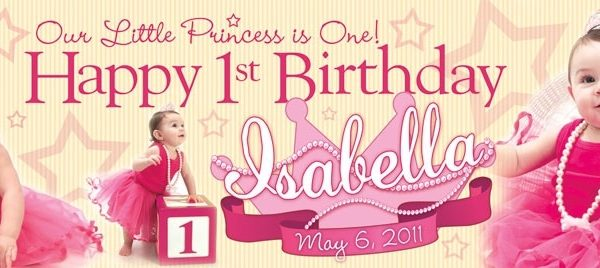 first birthday photo banner template ; glow-the-event-store-banners-glow-the-event-store-intended-for-first-birthday-banner-600x268