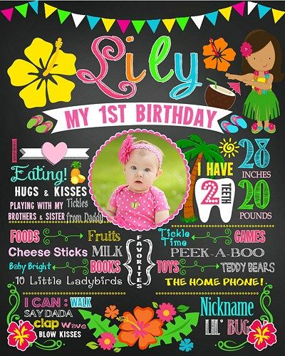 first birthday photo poster ; 17c8c2147b7aaf7675210221d5be7f5e