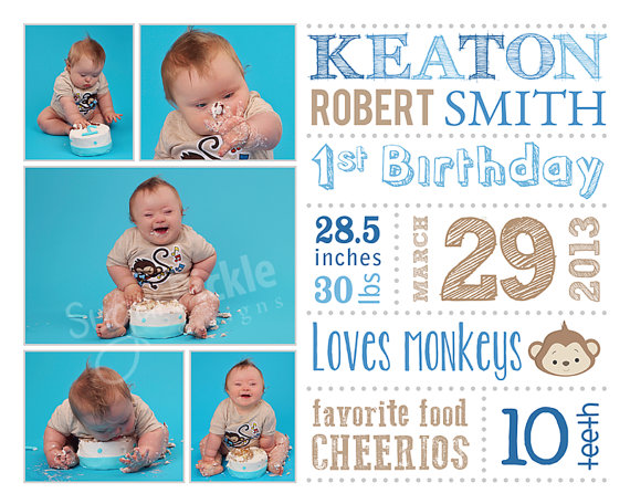 first birthday poster template ; 53743e851a66bb69387600cc6041b0ff