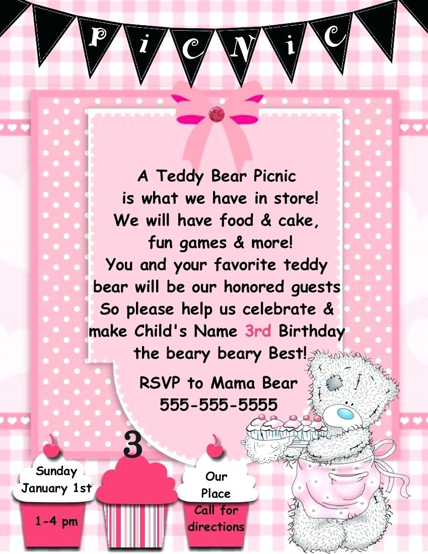 first birthday poster template ; first-birthday-poster-template-digital-design-teddy-bear-picnic-invitation