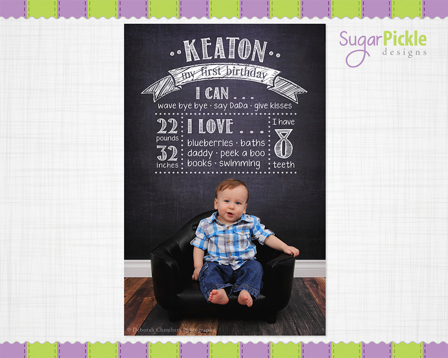 first birthday poster template free ; il_fullxfull