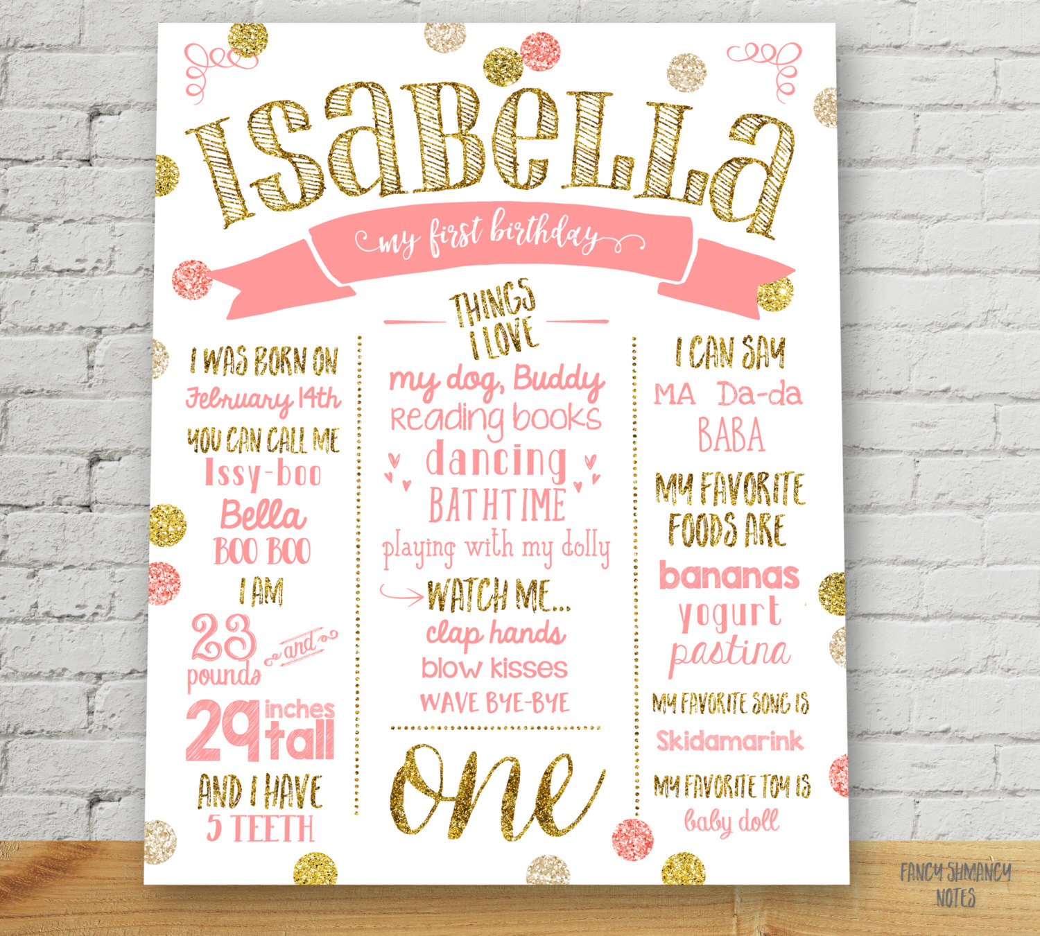 first birthday sign ; printable-birthday-posters-first-birthday-chalkboard-sign-poster-girl-11x14-16x20-free-download