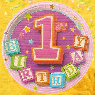 first birthday wallpaper ; b770970ee855821f963292442a897347