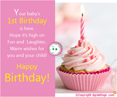 first birthday wishes greeting cards ; Bday-_11