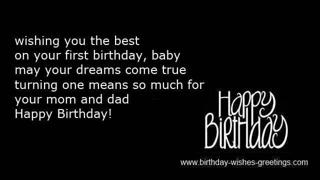 first birthday wishes greeting cards ; baby-first-birthday-wishes