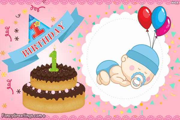first birthday wishes greeting cards ; e7d14a12a6995b8a355183094c9e132d