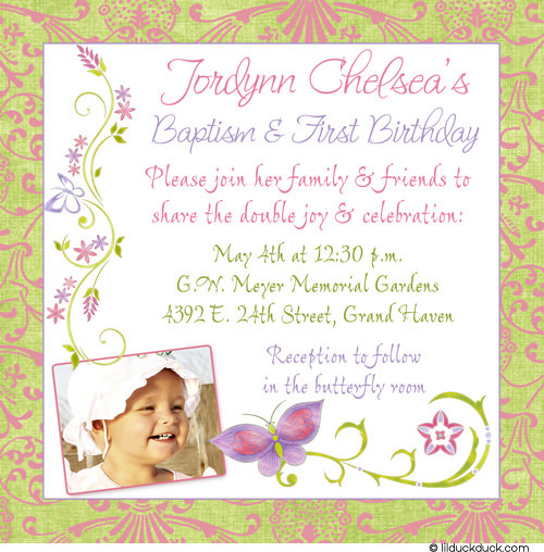 first year birthday invitation quotes ; 1st-birthday-and-christening-invitation-wording-butterfly-baptism-and-1st-birthday-invitations