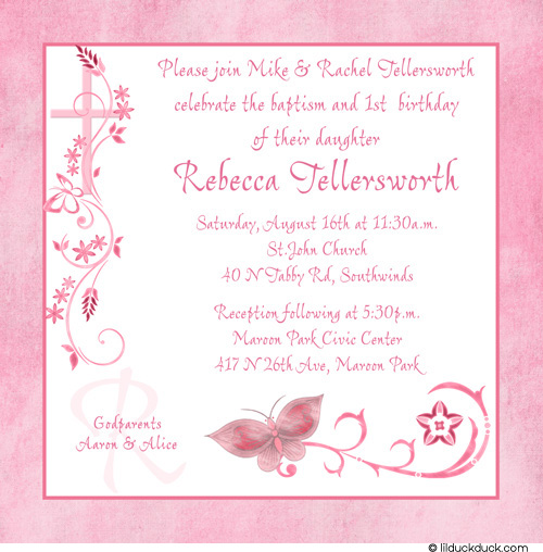 first year birthday invitation quotes ; first-birthday-and-baptism3