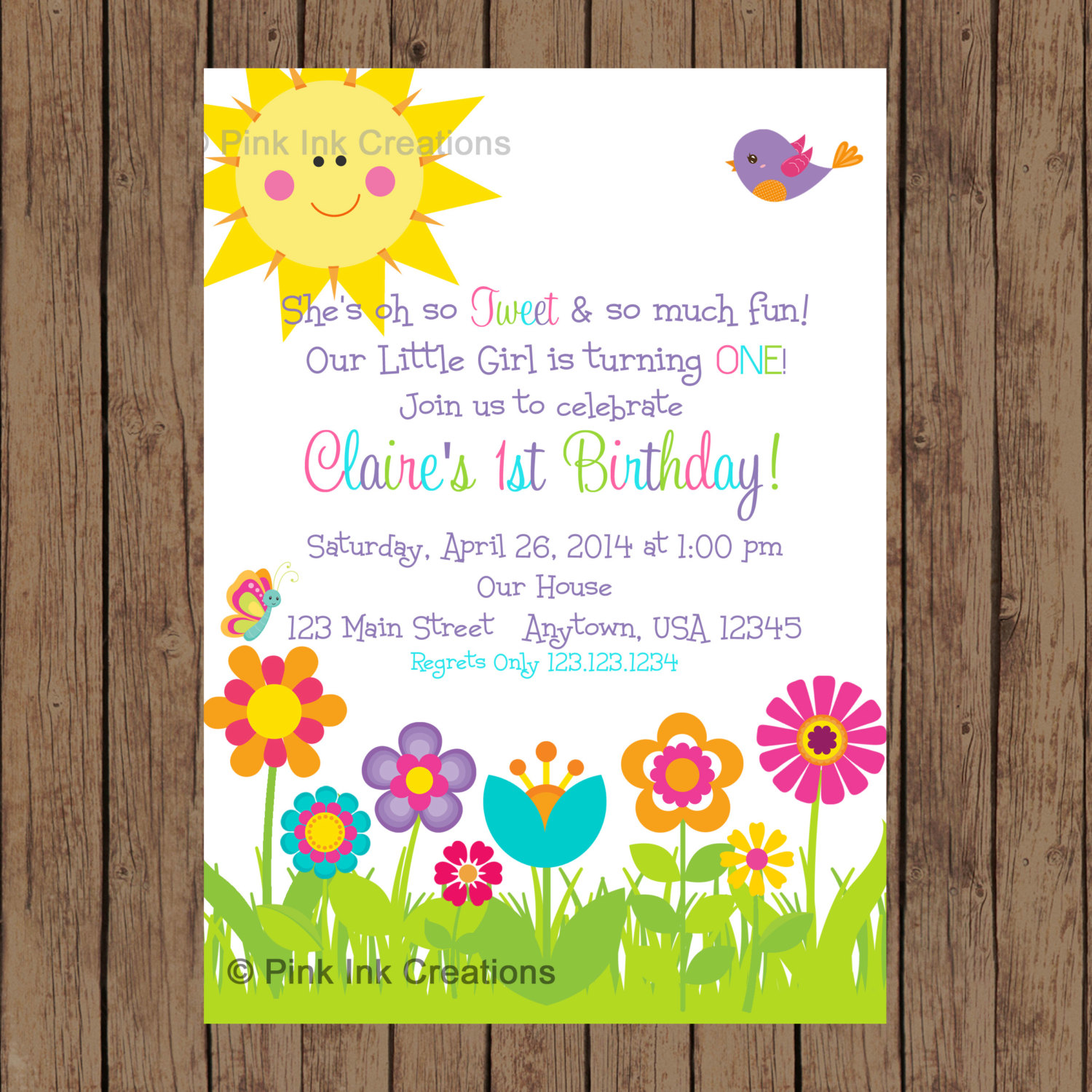 flower themed birthday party invitation wording ; Spring-Birthday-Invitations-to-get-ideas-how-to-make-your-own-birthday-Invitation-design-1