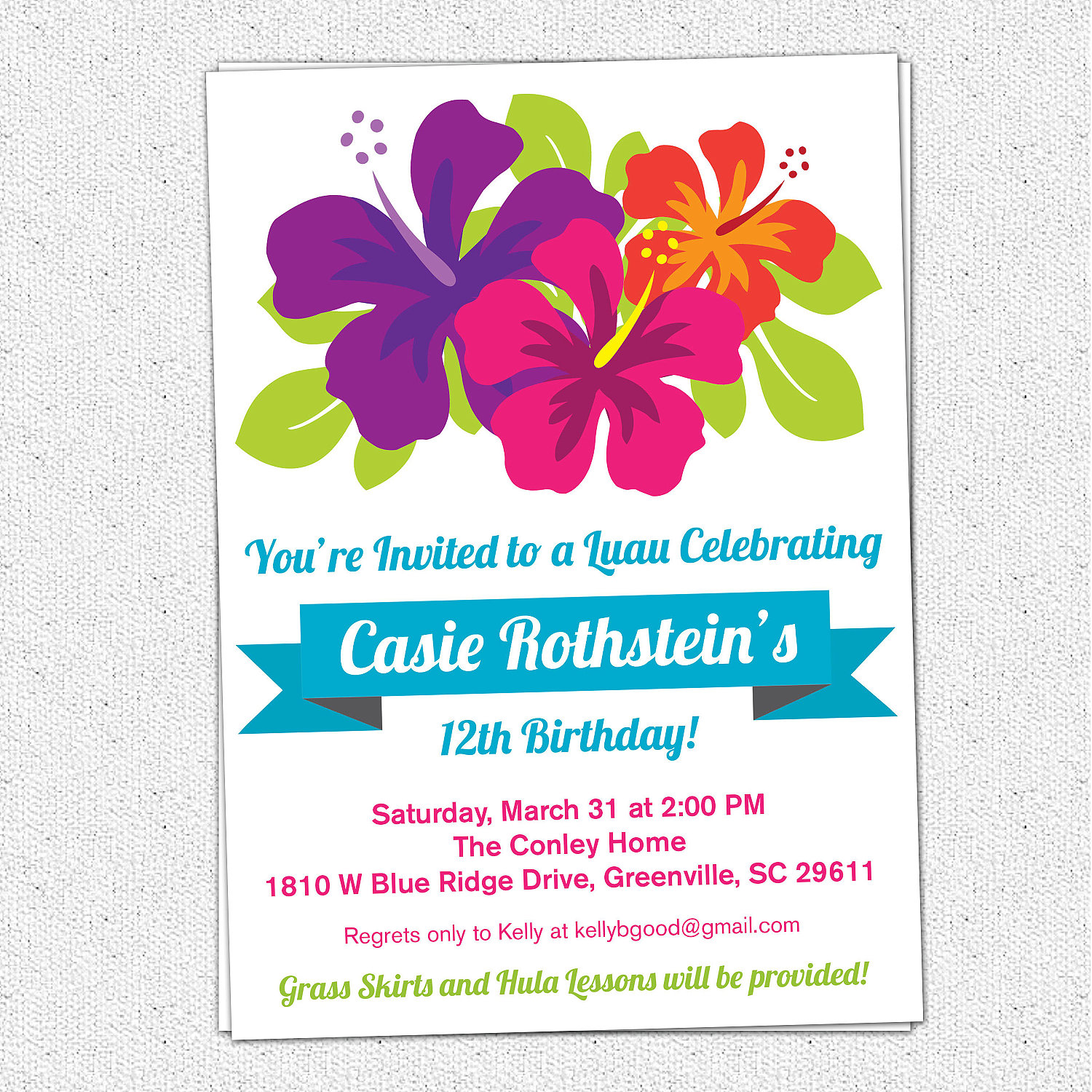 flower themed birthday party invitation wording ; il_fullxfull