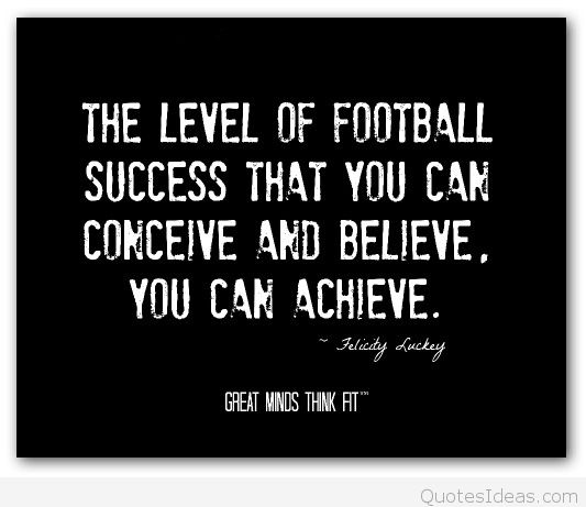 football birthday card quotes ; Flicity-Luckey-Quote