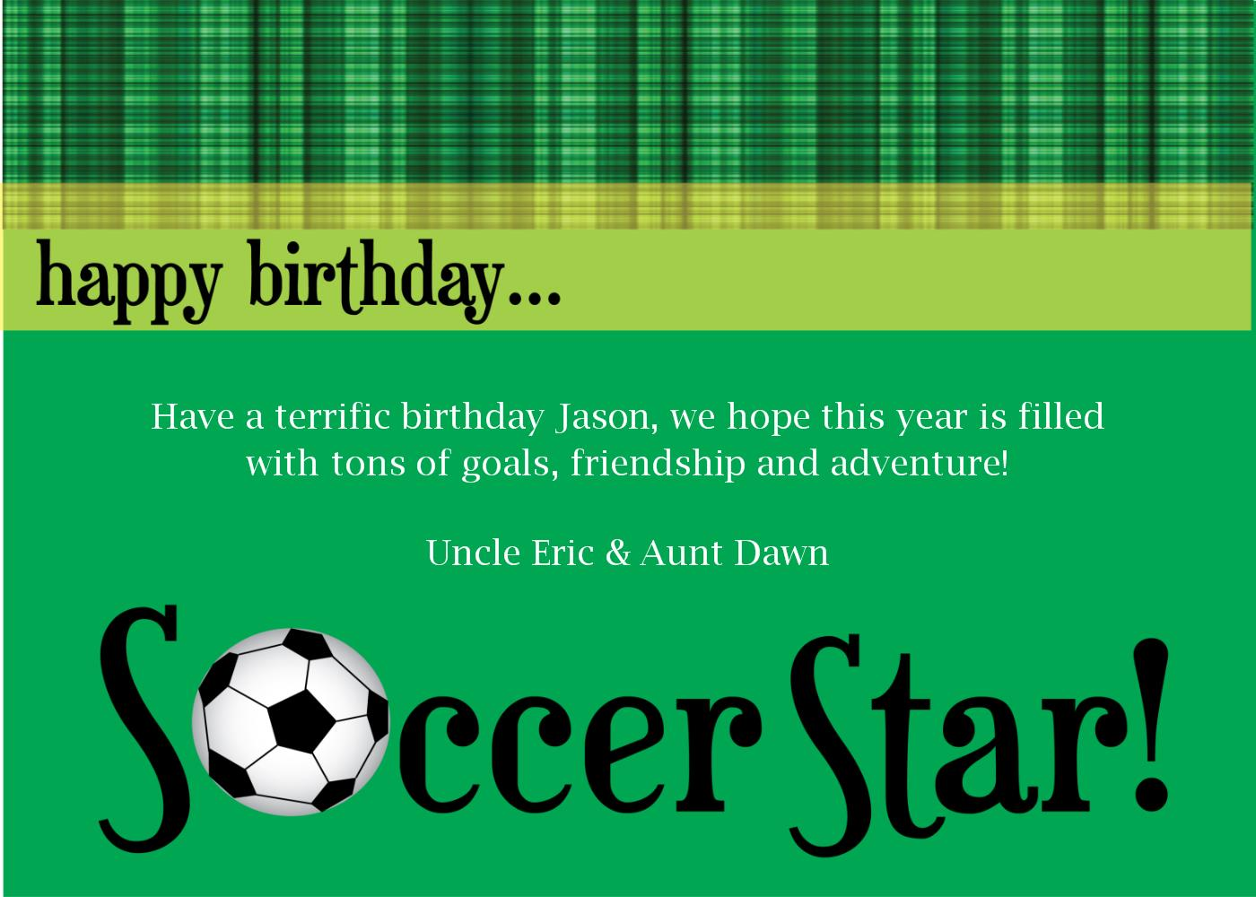 football birthday card quotes ; extraordinary-quotes-awesome-soccer-birthday-cards-green-background-color-jason-party-hope-this-year-is-filled-with-tons-of-goals