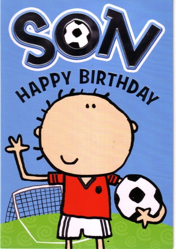 football birthday card quotes ; large_10_son1