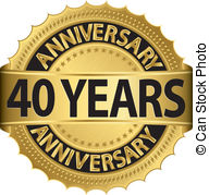 free 40th birthday clipart images ; 40-years-anniversary-golden-label-with-ribbon-vector-eps-vector_csp11224248