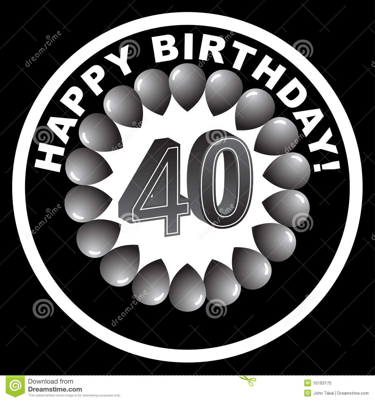 free 40th birthday clipart images ; happy-birthday-icon-happy-40th-10193175