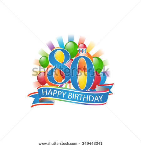 free 80th birthday clipart ; stylist-free-80th-birthday-clip-art-stock-images-royalty-vectors