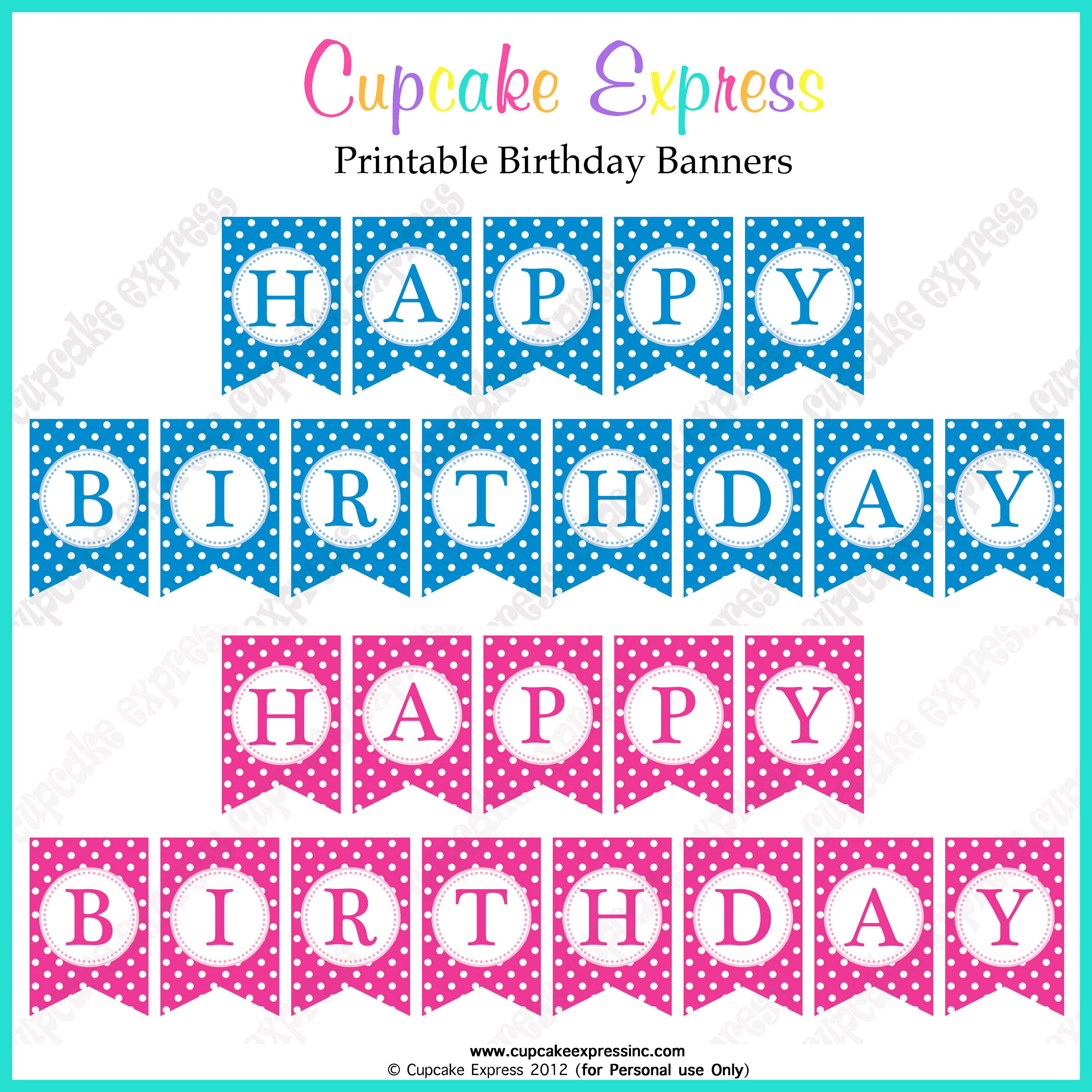 free birthday banners personalized with photo ; ee42ebec13985df3993b570bec658768