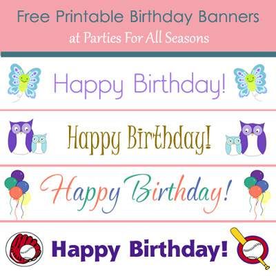 free birthday banners personalized with photo ; you-should-be-here-banner-fabric-happy