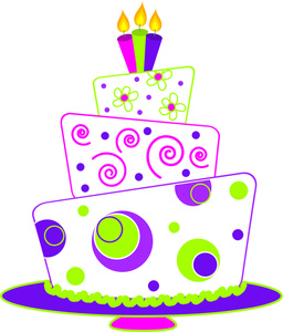 free birthday cake clipart images ; colorful_birthday_cake_with_three_candles_0515-1102-2103-1410_SMU