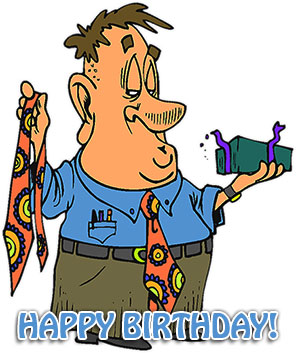 free birthday clipart for guys ; man-birthday-present