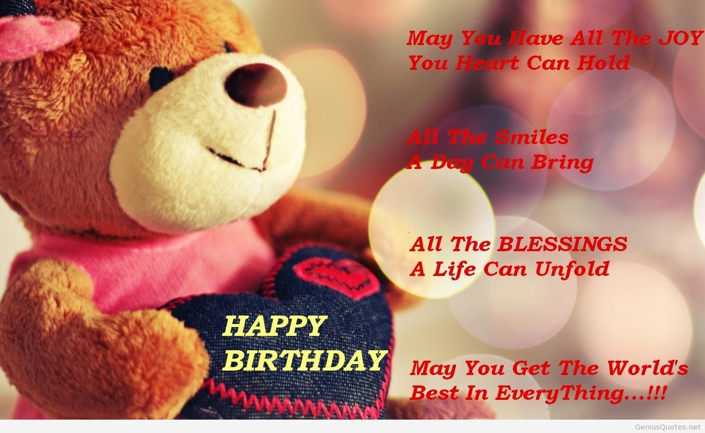 free birthday images with quotes ; Happy-Birthday-HD-wallpaper-quote-2014-image