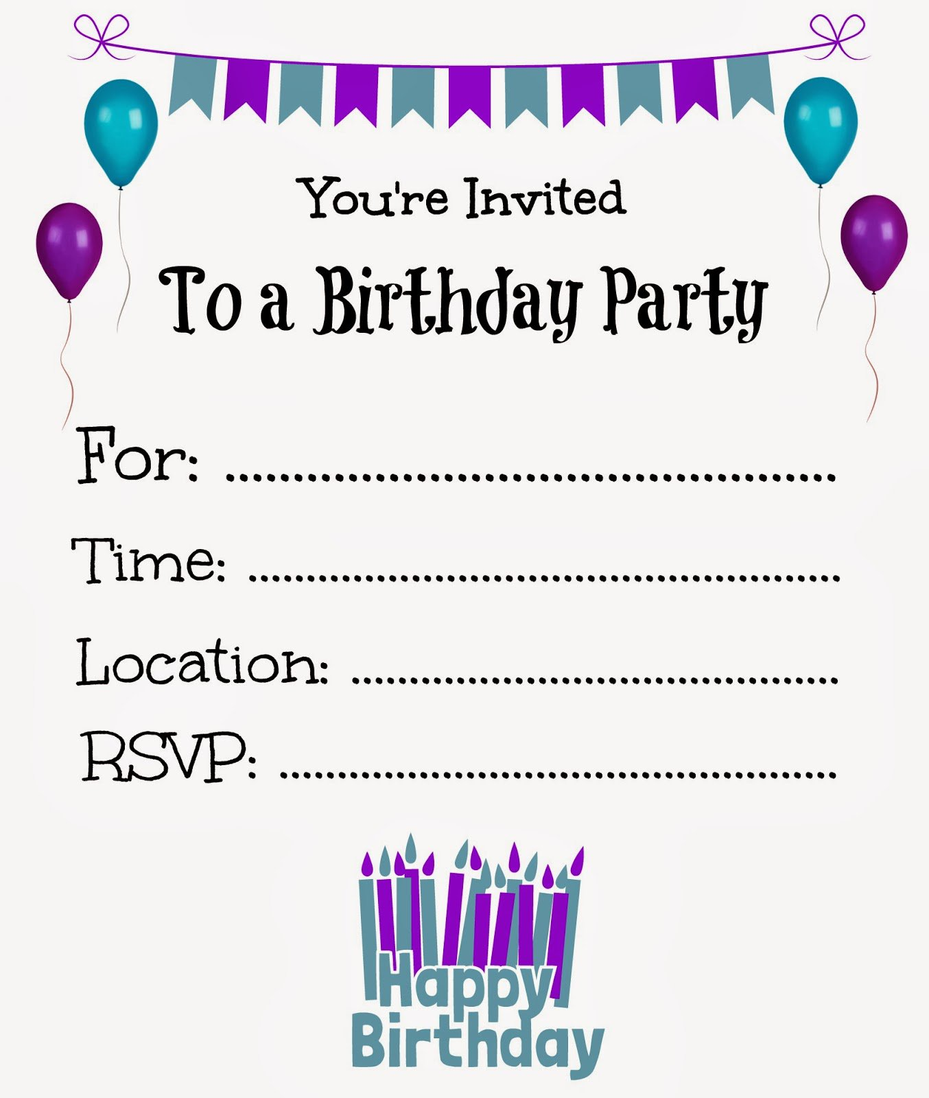 free birthday invitation card maker with photo ; free-birthday-invitation-templates-And-the-dekorativ-Birthday-and-great-ideas-2