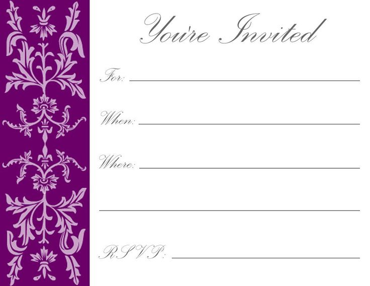 free birthday invitation card maker with photo ; free-online-invitation-templates-printable-229-best-invitations-card-template-images-on-pinterest-card