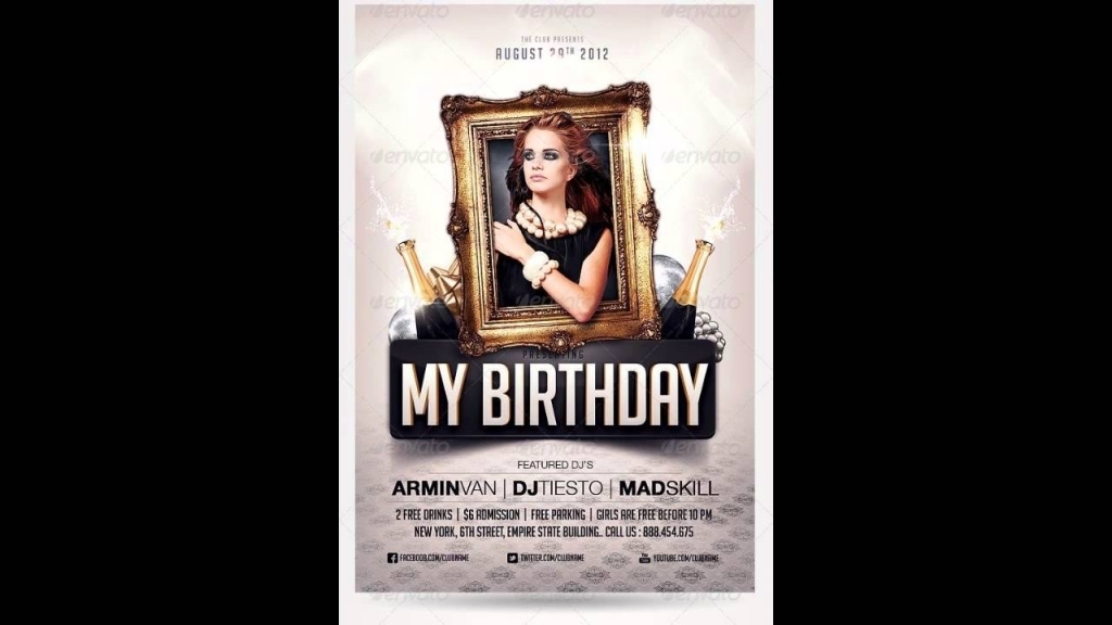 free birthday invitation templates photoshop ; birthday-party-invitation-flyer-free-photoshop-template-youtube