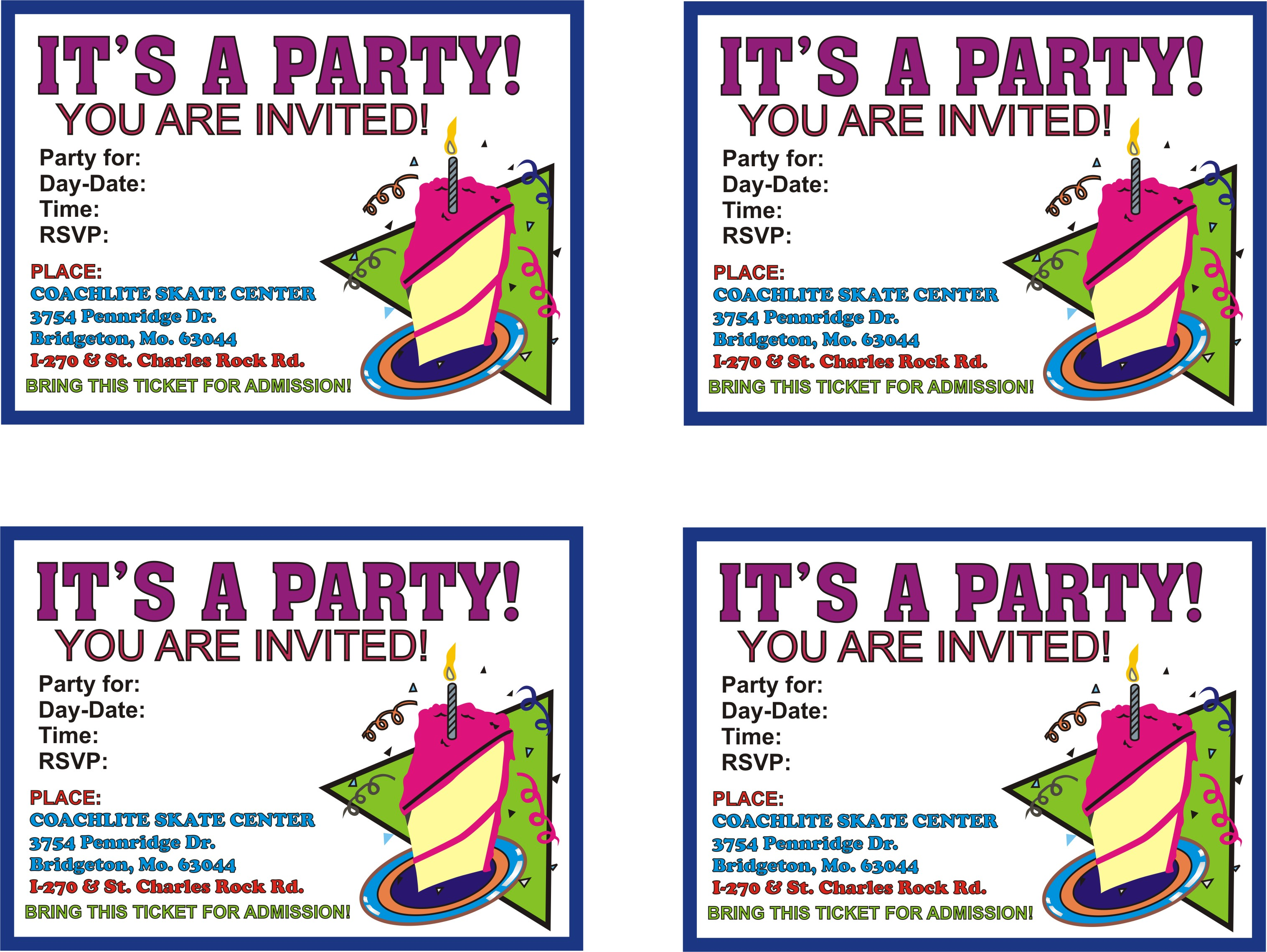 free birthday party invitation templates with photo ; Remarkable-Printable-Birthday-Party-Invitations-For-Additional-Free-Birthday-Invitations