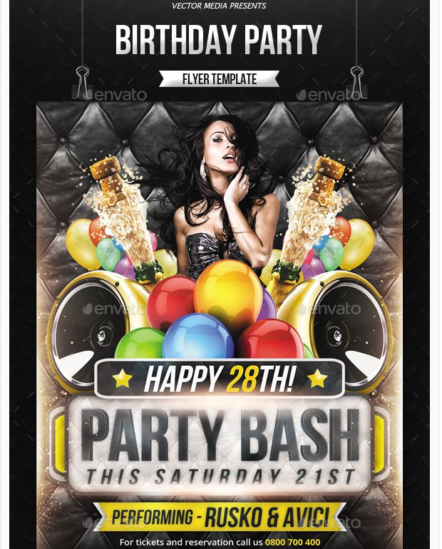 free birthday poster template ; 264c1060c6a8755c1ce91e03f2efbd1b--birthday-parties-business-marketing