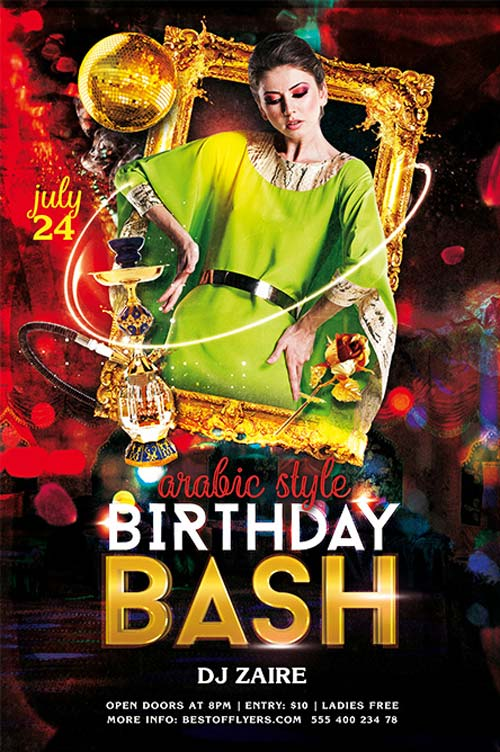 free birthday poster template ; BIRTHDAY-BASH-FREE-PSD-FLYER-TEMPLATE-FreePSDFlyer-com