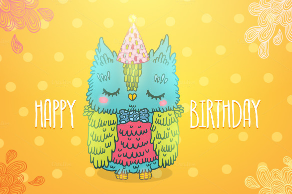 free birthday poster template ; Bird-Birthday-Poster-Template