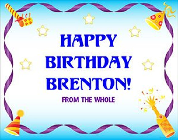 free birthday poster template ; Birthday-Celebration-Poster-Template