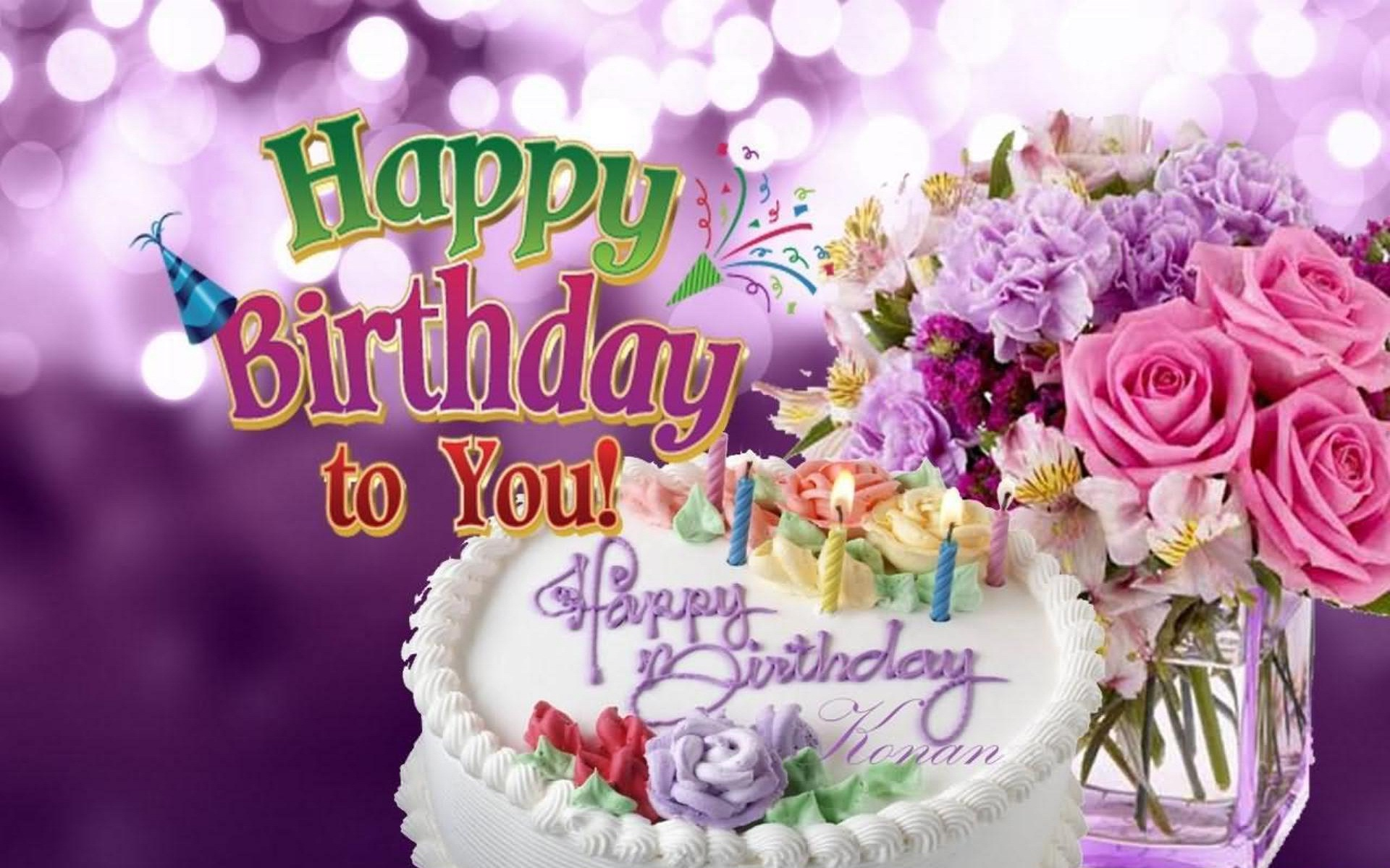 free birthday wallpaper images ; birthday-wishes-wallpaper-1