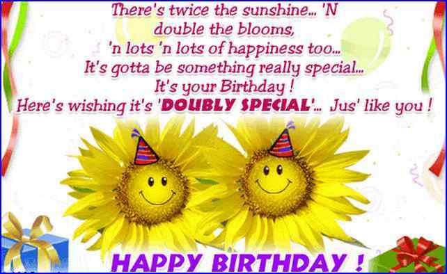 free birthday wishes images ; Birthday-Wishes-For-Twins-6